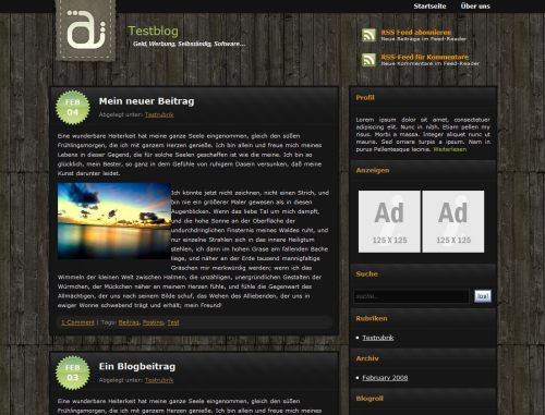 wordpress theme gratuit free wordpress template