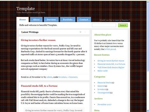 Free WordPress Themes 11