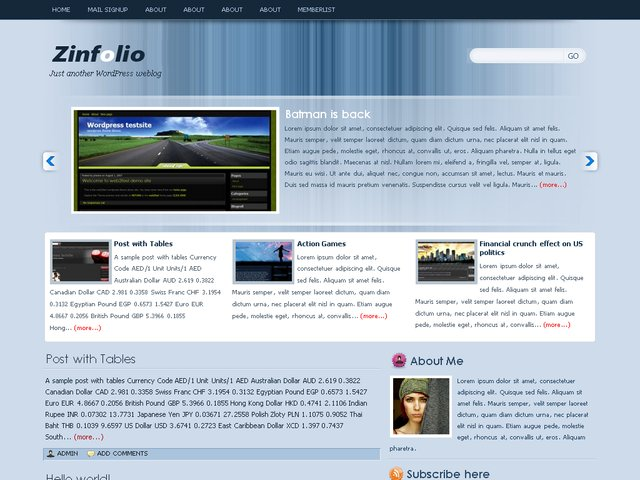 theme wordpress
